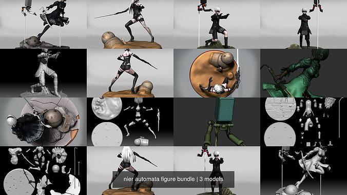 nier automata figure bundle