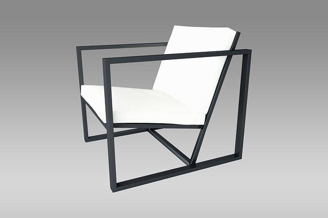 Metallic Armchair
