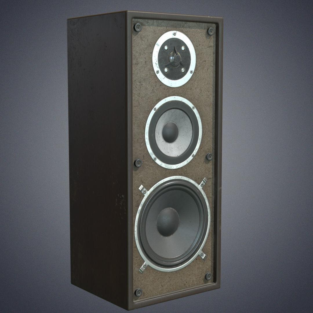 Audio speaker retro
