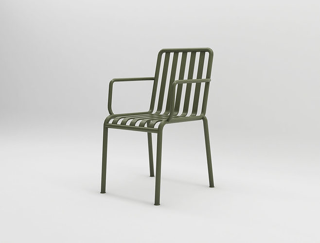 olive palissade arm chair hay design illopop