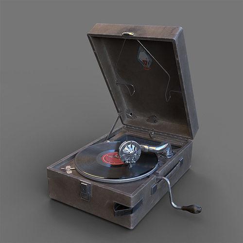 PT3 portable gramophone