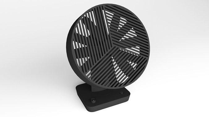 Desktop Fan - 3ds Max