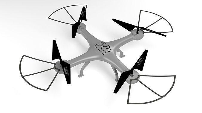 Simple  quadrocopter 3D model