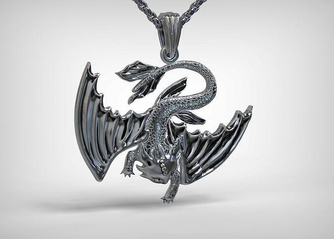 black furia pendant