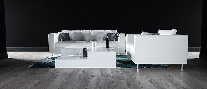 Sofa set - Interior Furniture 08