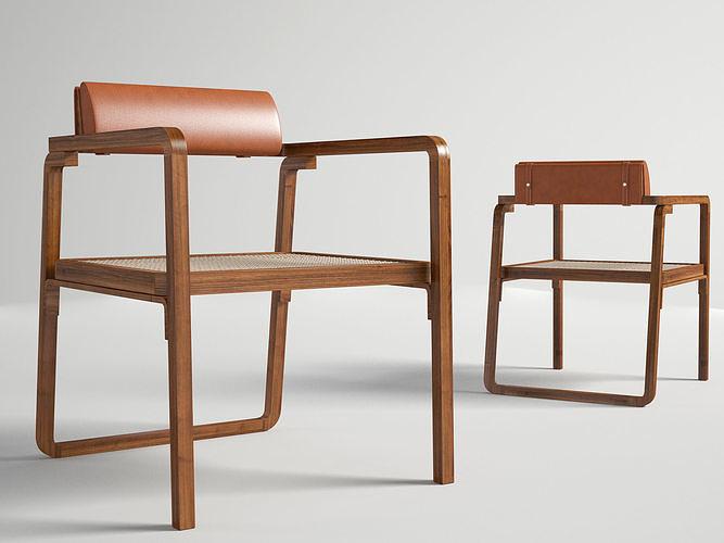 Oria Hermes low armchair