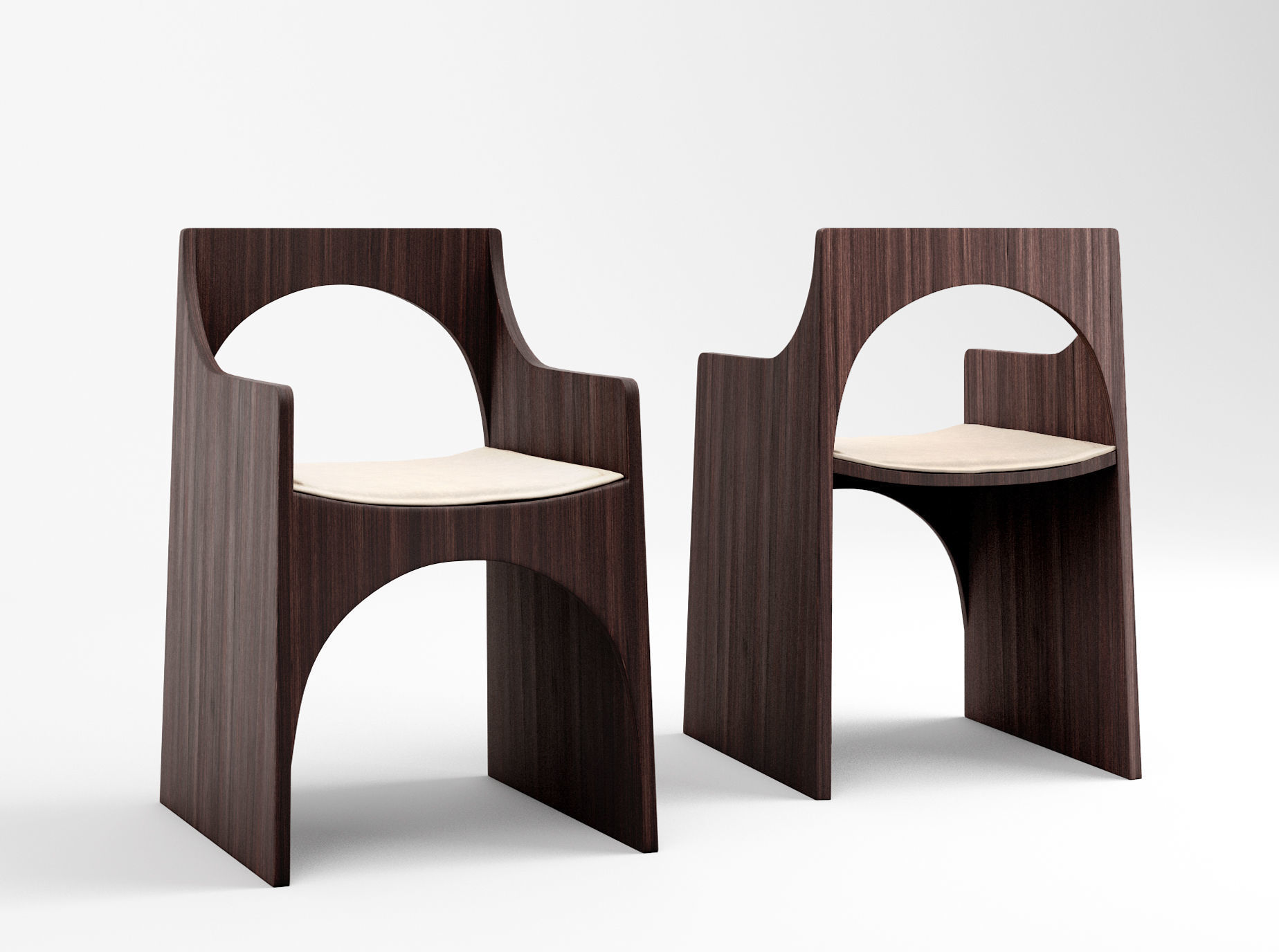 Christophe Delcourt Cle chair and Sol table