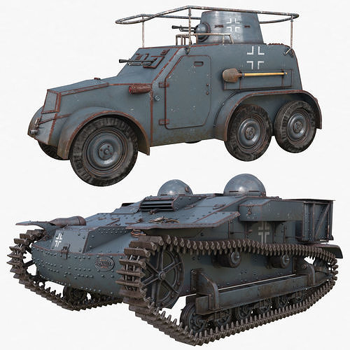 Tank Collection Vray 006