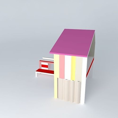 The small house toane fr d ric tabary design 3d model max obj 3ds fbx stl skp - Frederic tabary ...