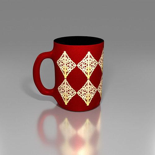 Mug Onaments Texture