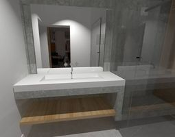 house loft 3d model