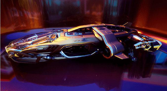 Arrow Carbine Spaceship