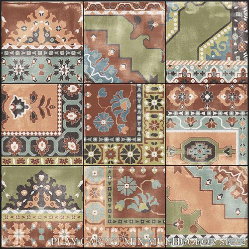 ABK Play Carpet Mix Multicolor Set 2