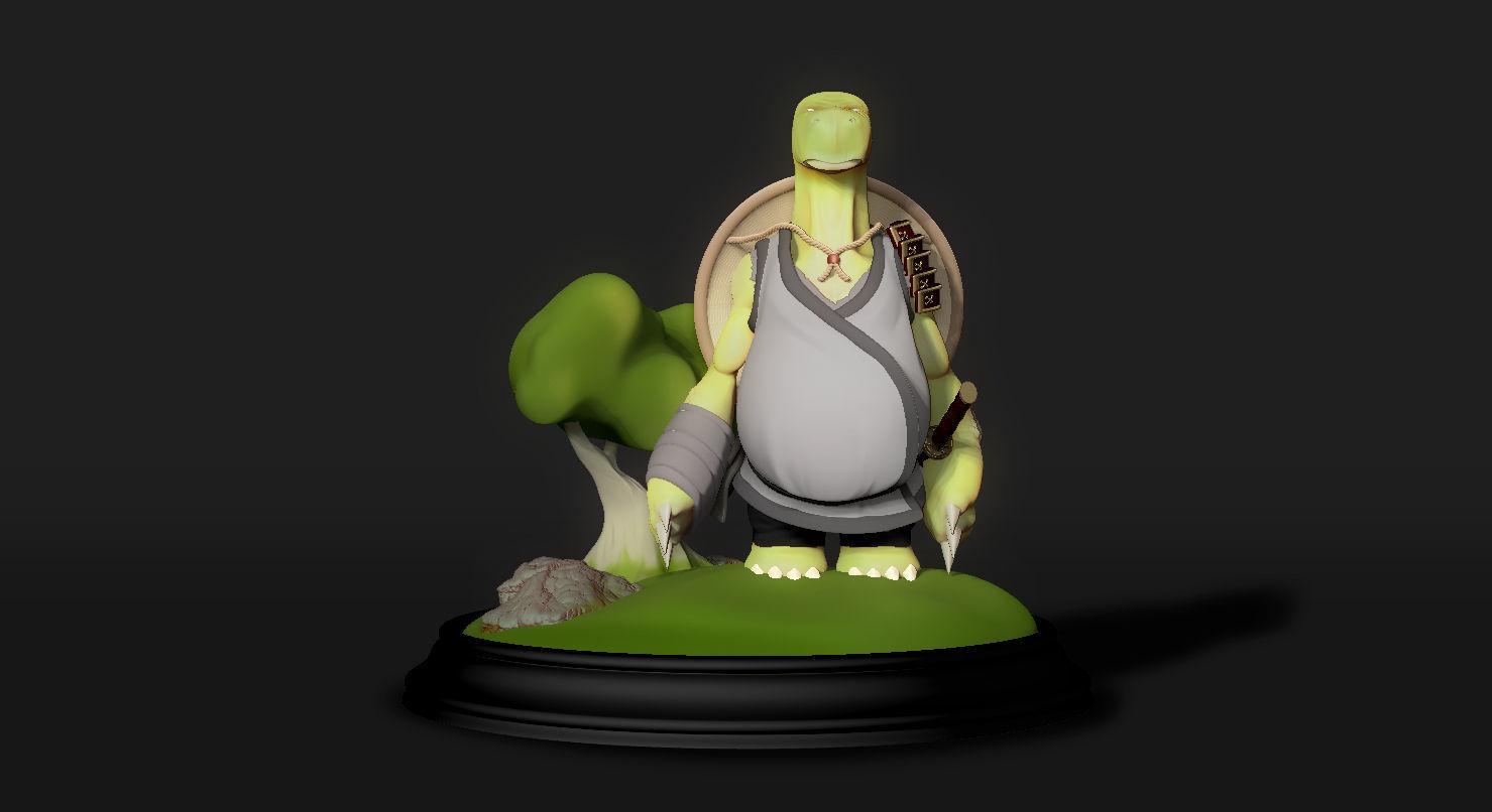 Kamin - The Samurai Tortoise