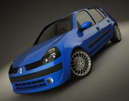 Renault Clio 2004 Sport 3D