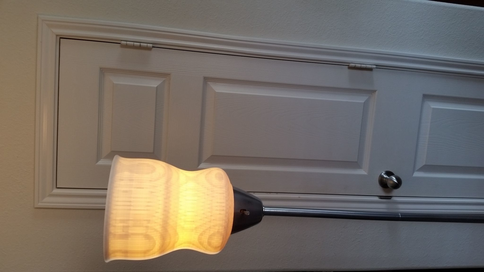 3D Printable Torchiere Lampshade