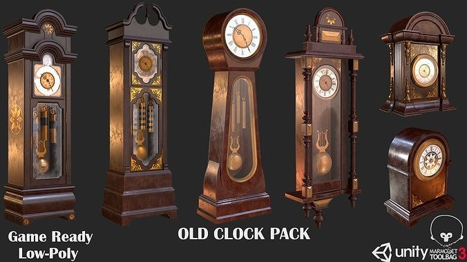 Old Clock Pack PBR