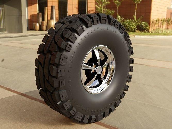 4x4 tire - Thornbird