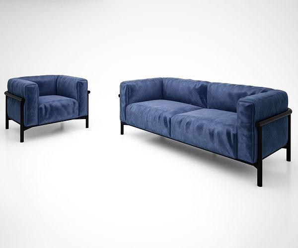 TAIKI sofa and armchar by Lema SPA