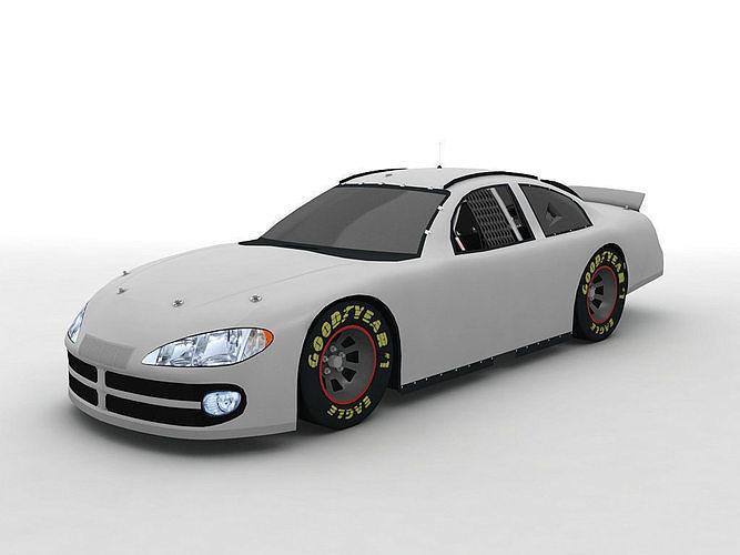 2002 Dodge Intrepid Stock Car NASCAR