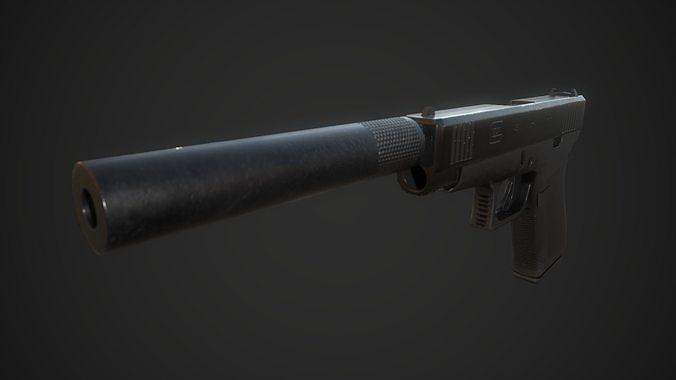 Glock G48 with Supressor