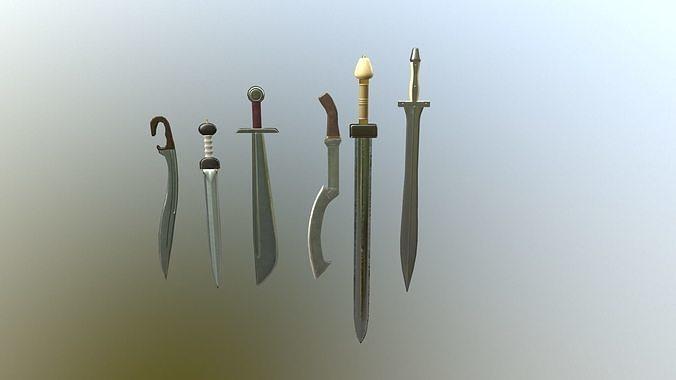 Ancient sword pack