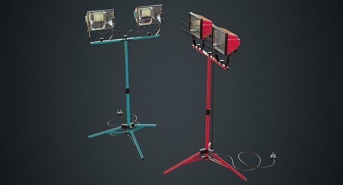 Mobile Construction Light 1A