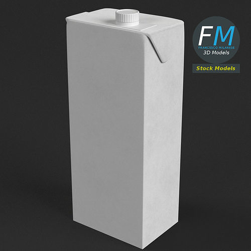 Drink carton with screw top