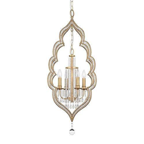 Chandelier Lucia Tucci Tenerezza 5490-4 Gold