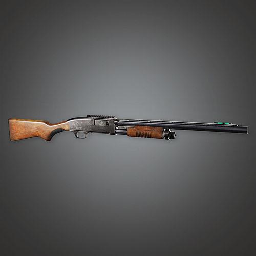 MSG - FPS Modern Shotguns - Perun - PBR Game Ready