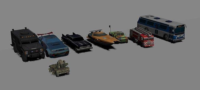 8 modelos