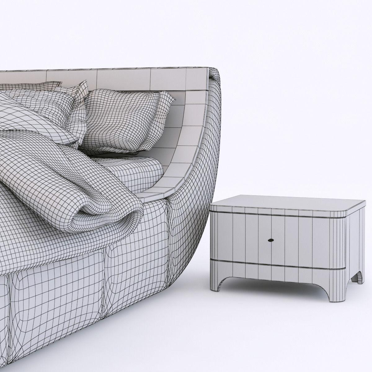 3D woodways bossa nova bedroom set | CGTrader