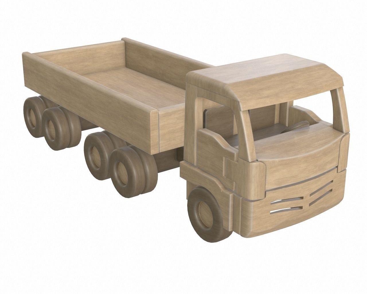 Truck wooden 2