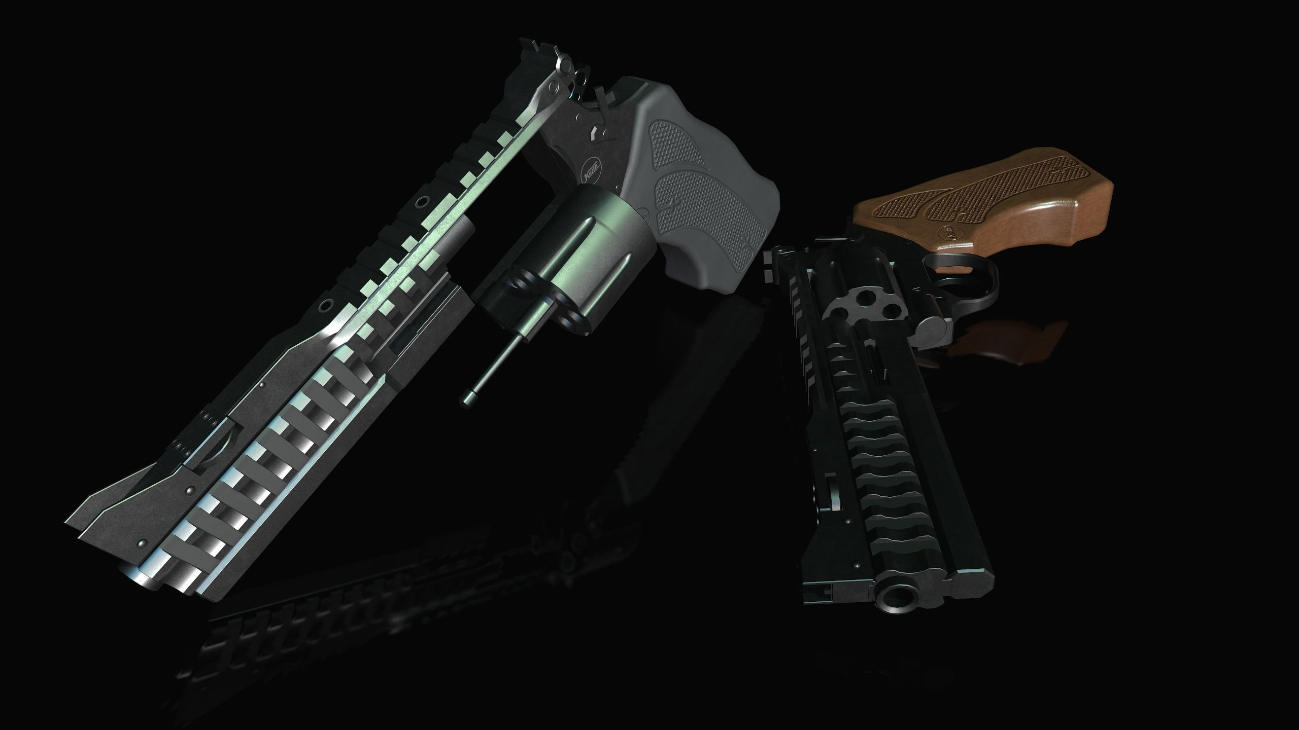 Korth national standard 357 Magnum