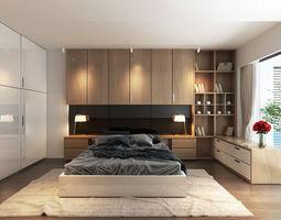 3D model SAT bedroom
