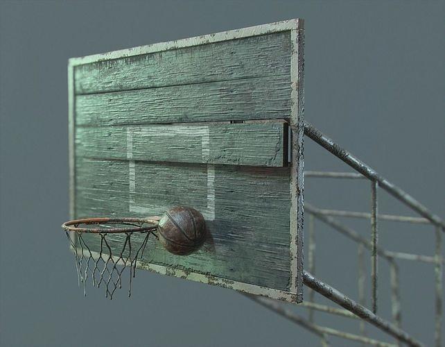 PBR Basketball Outdoor Backboard