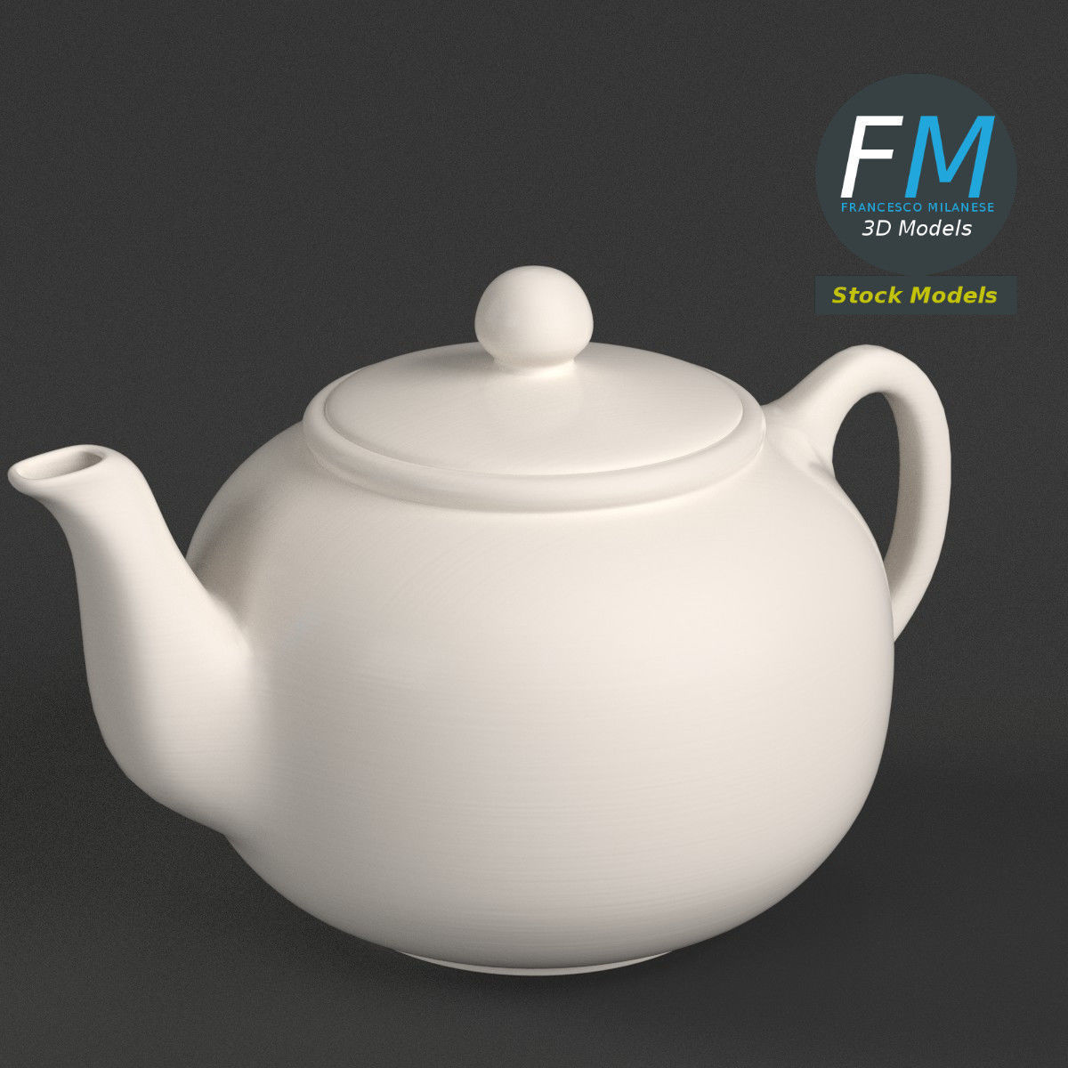Porcelain teapot 1