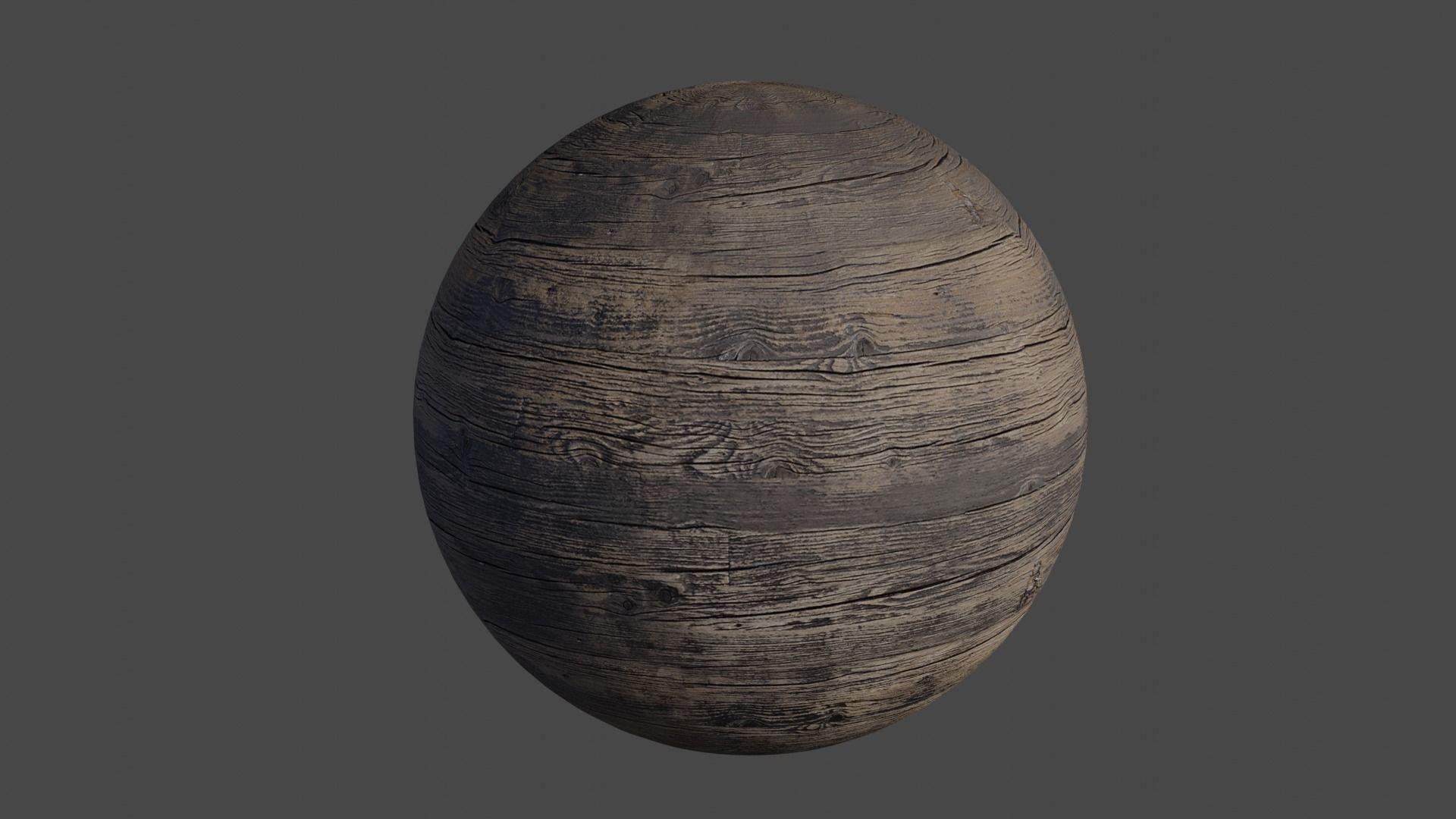 Old Wood - PBR