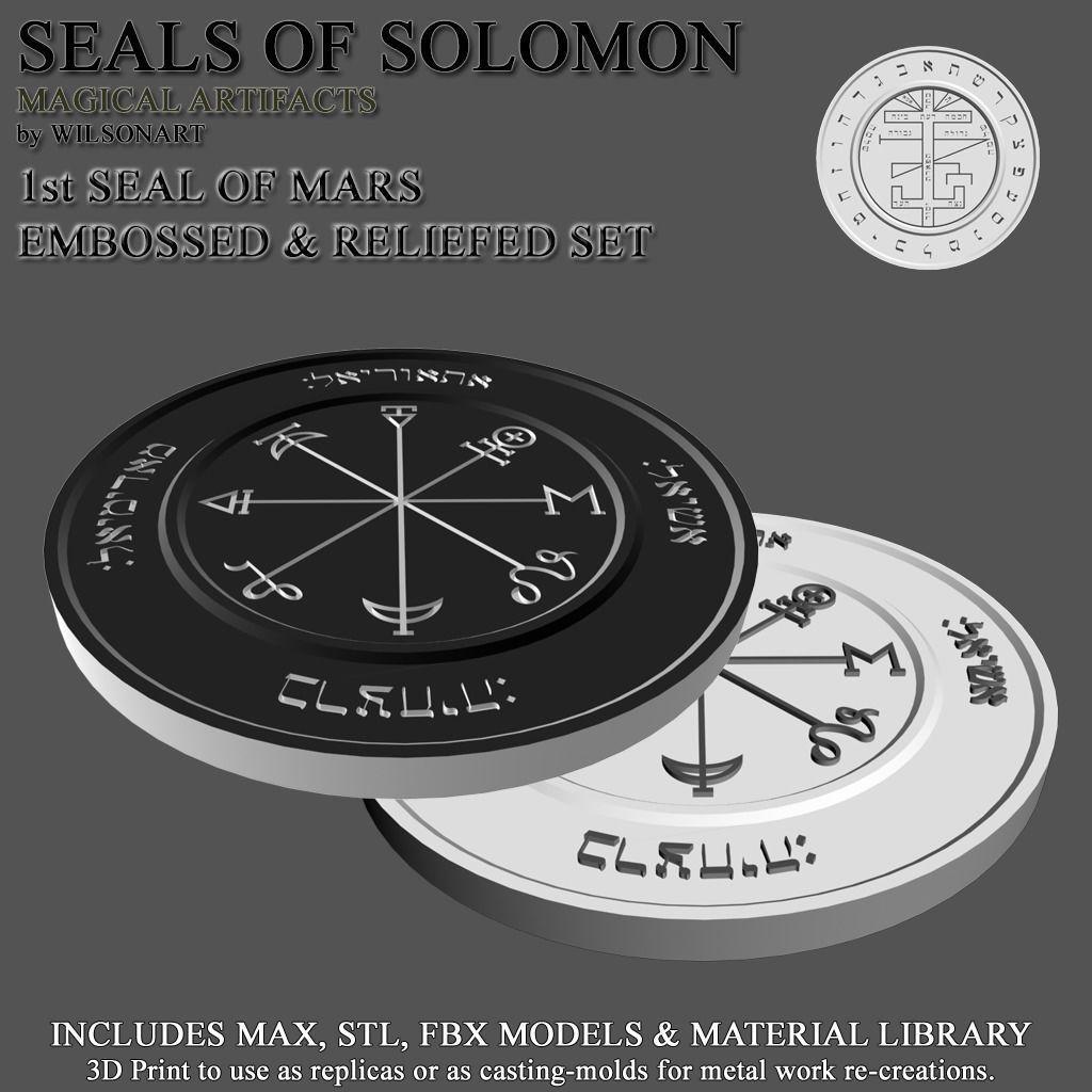 1st Seal of Mars