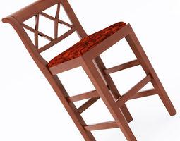 Marchetti bar stool 3D model