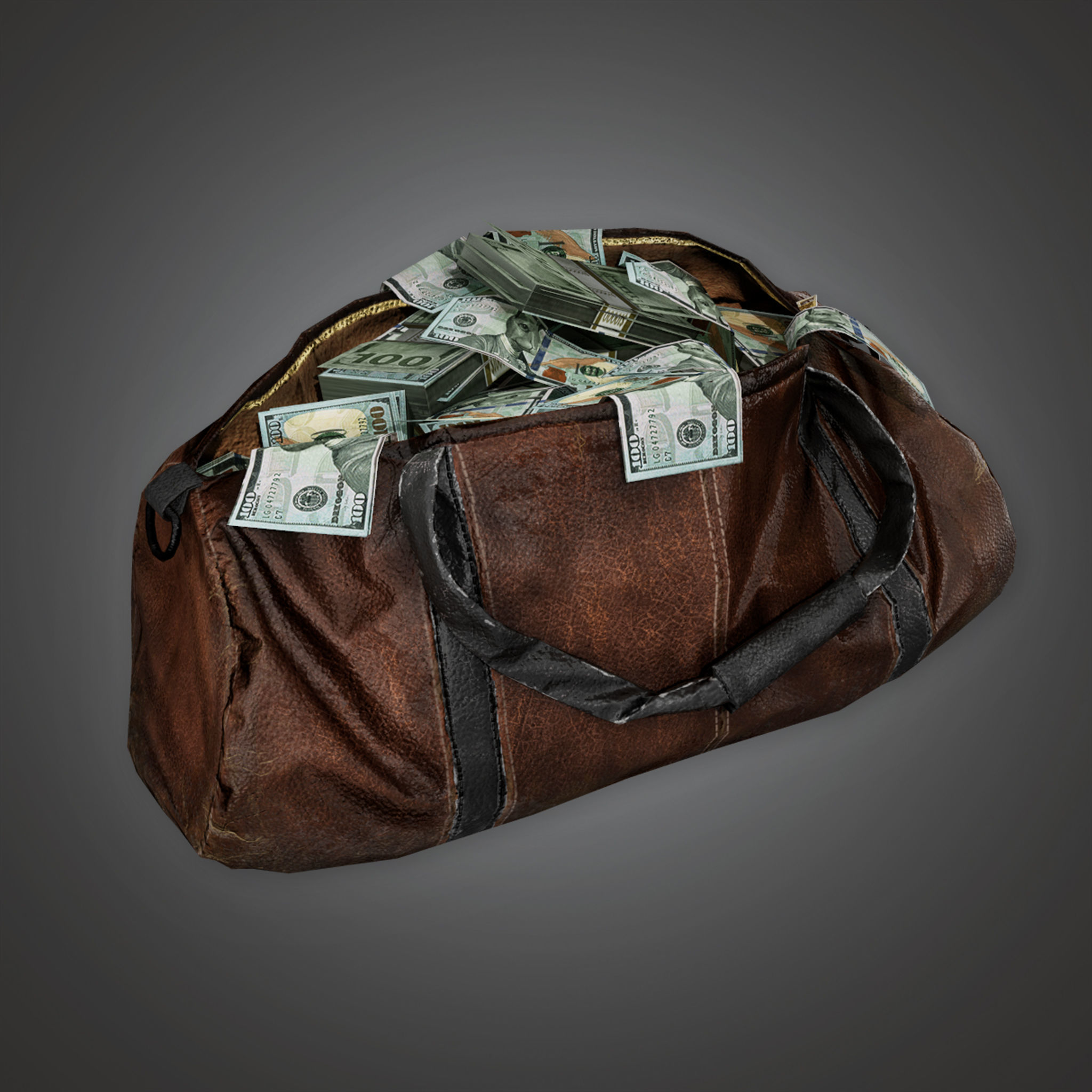 BHE - Cash Money Bag - PBR Game Ready