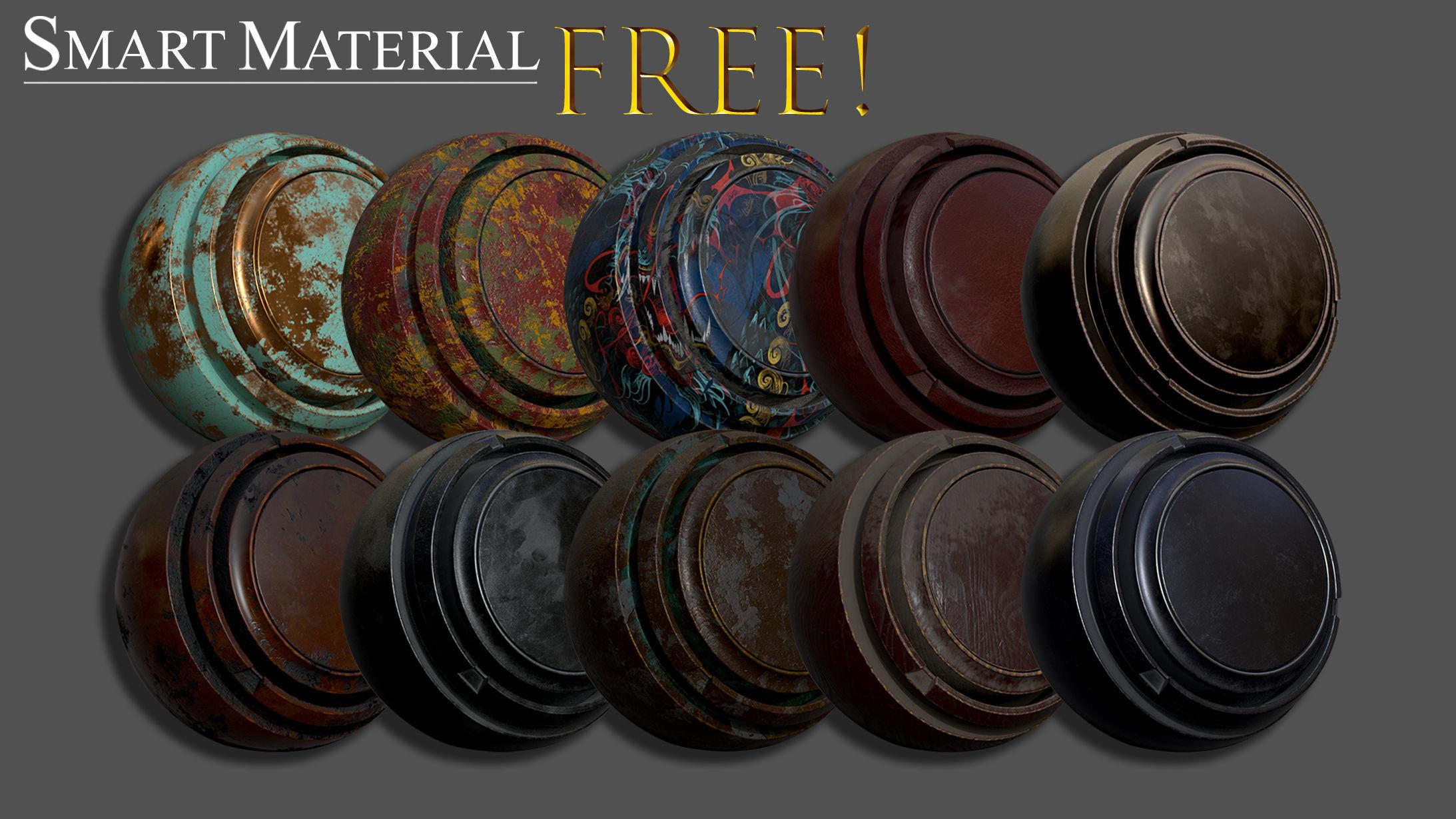 FREE Smart material