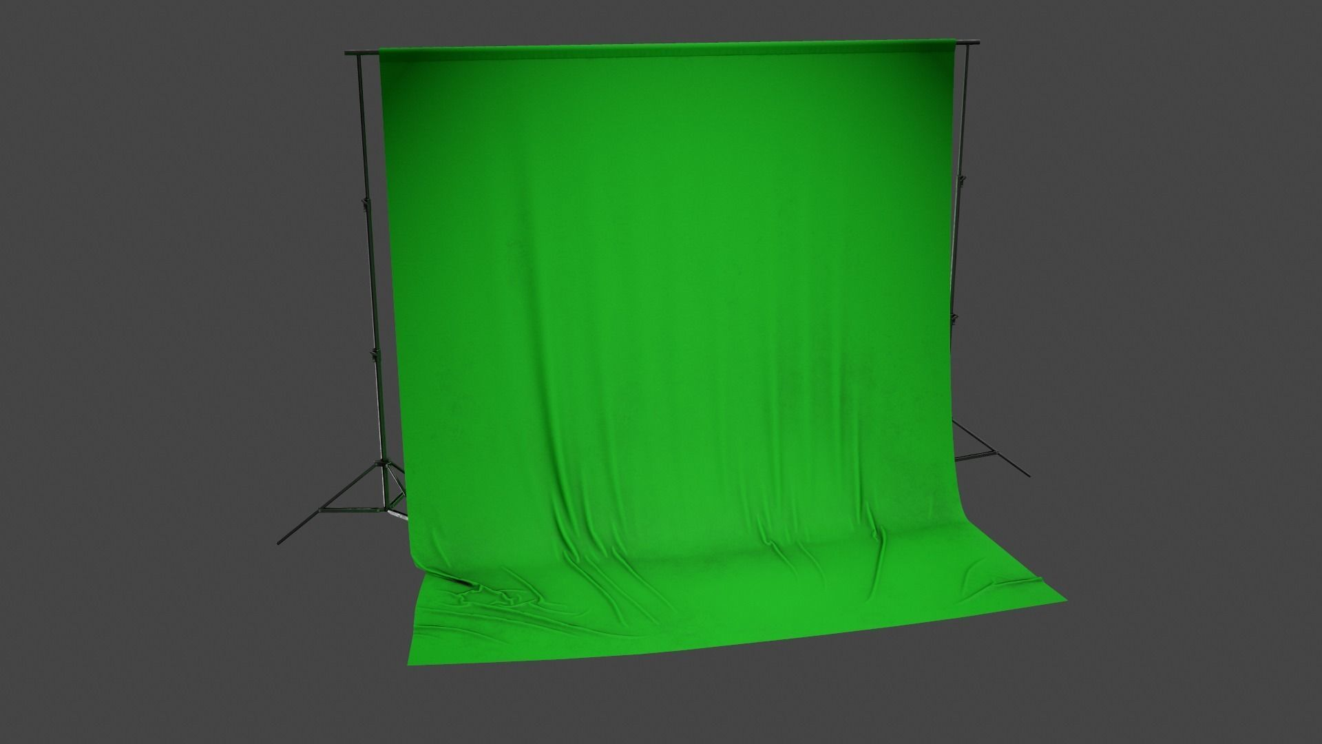 HLW - Green Screen Stand - PBR Game Ready