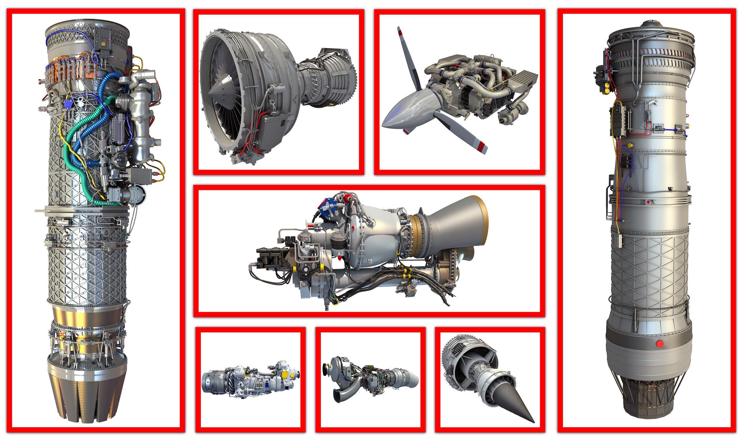 8 Aircraft Engine Models
