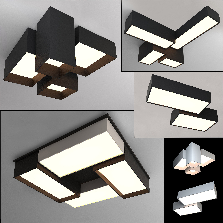 Ceiling lamps set 008