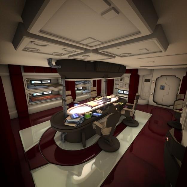 Spacecraft Interior HD 2