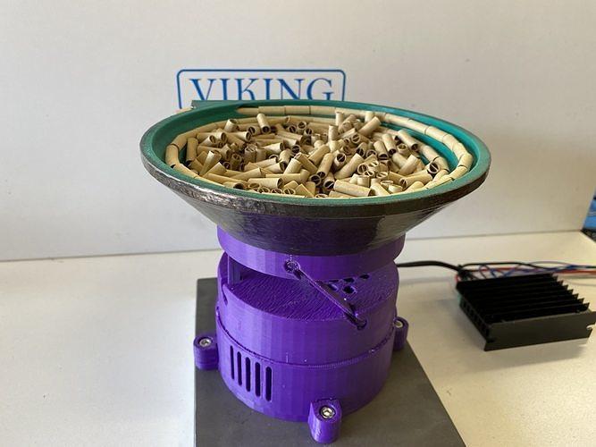 MKIII 3D Printed Vibrating Bowl Feeder - Full Release