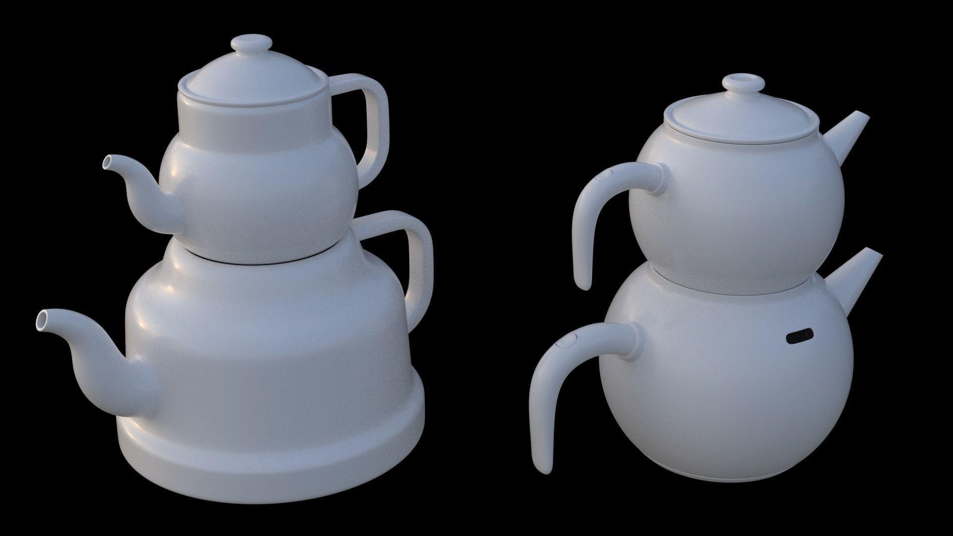 Teapot - 2 Piece