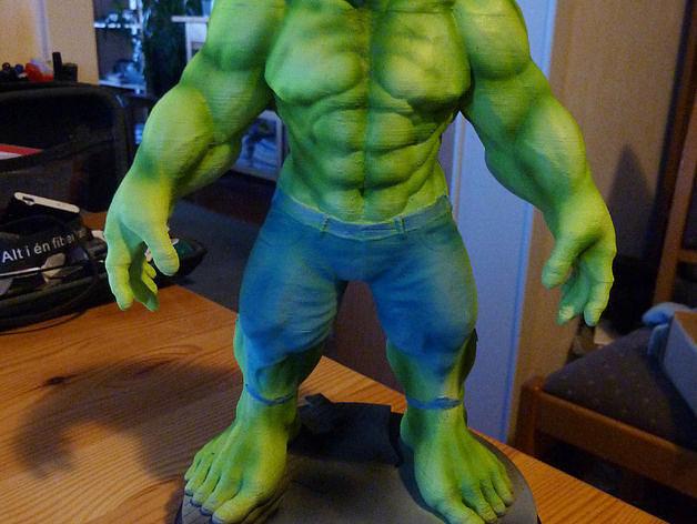 hulk from the avengers 3d model stl 1