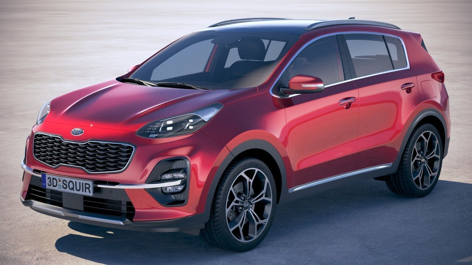 Kia Sportage with interior 2019